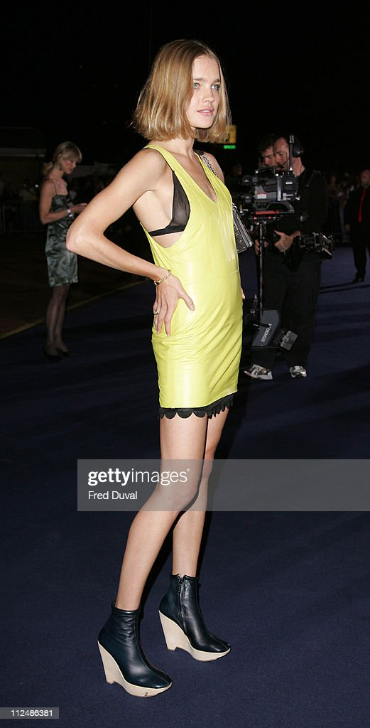Natalia Vodianova during London Fashion Week Spring/Summer 2007 - Emporio Armani 'One Night Only' - Arrivals at Earls Court in London, Great Britain.