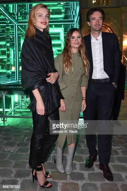 Natalia Vodianova Miroslava Duma and Antoine Arnault attend Fashion Tech Lab launch event as part of Paris Fashion Week Womenswear Spring/Summer 2018...