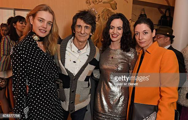 Natalia Vodianova Ronnie Wood Sally Wood and Mary McCartney attend the Stella McCartney Christmas Lights switch on at the Stella McCartney Bruton...
