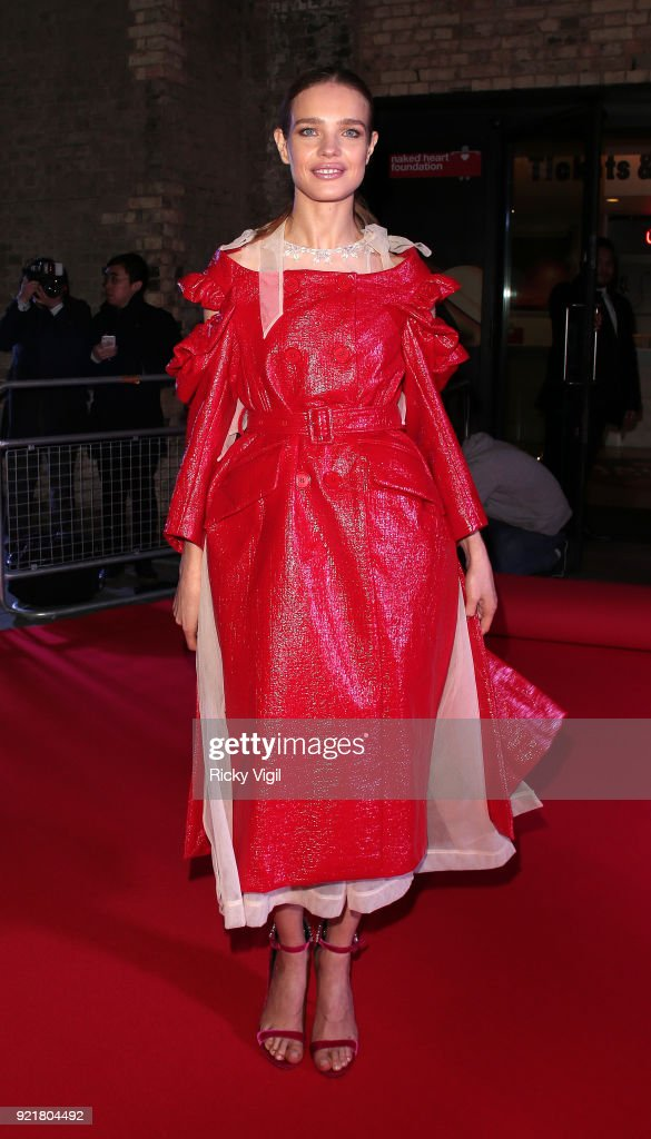 Natalia Vodianova seen attending the London Fabulous Fund Fair at Roundhouse during LFW February 2018 on February 20, 2018 in London, England.