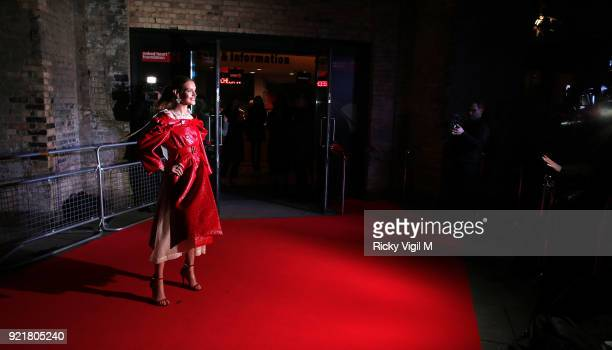 Natalia Vodianova seen attending the London Fabulous Fund Fair at Roundhouse during LFW February 2018 on February 20 2018 in London England