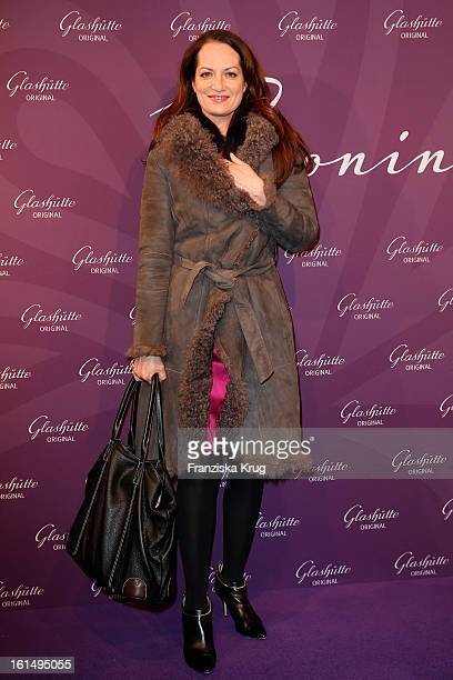 Natalia Woerner attends 'Glashuette Orginal presents new collection for women' during the 63rd Berlinale International Film Festival at...