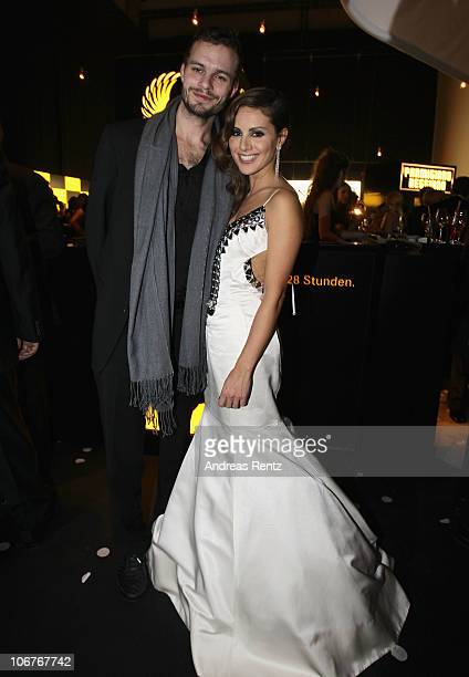 Natalia Woerner attends the Bambi 2010 Award After Show Party at Filmpark Babelsberg on November 11 2010 in Potsdam Germany