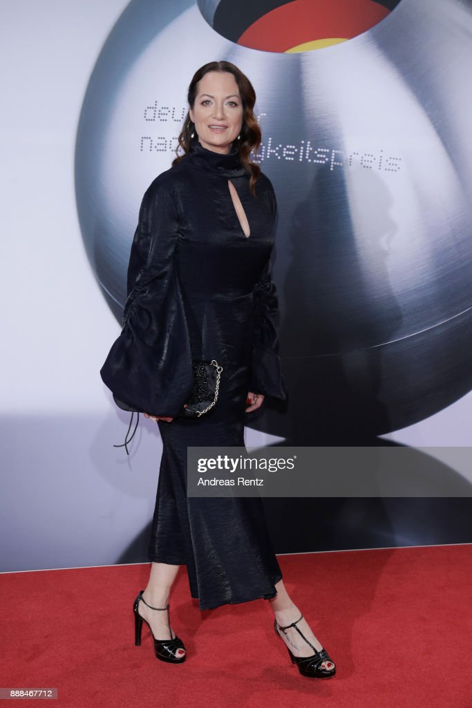 Natalia Woerner attends the German Sustainability Award ( Deutscher Nachhaltigkeitspreis ) at Maritim Hotel on December 8, 2017 in Duesseldorf, Germany.