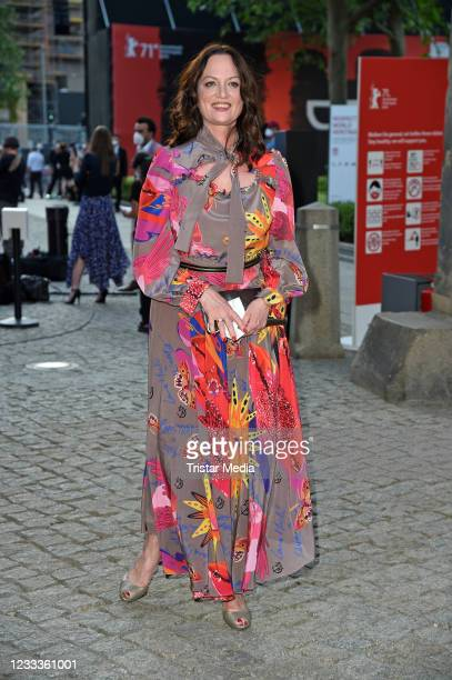 """Natalia Woerner attends the Opening Ceremony and """"The Mauritanian"""" premiere during the 71st Berlinale International Film Festival Summer Special at..."""