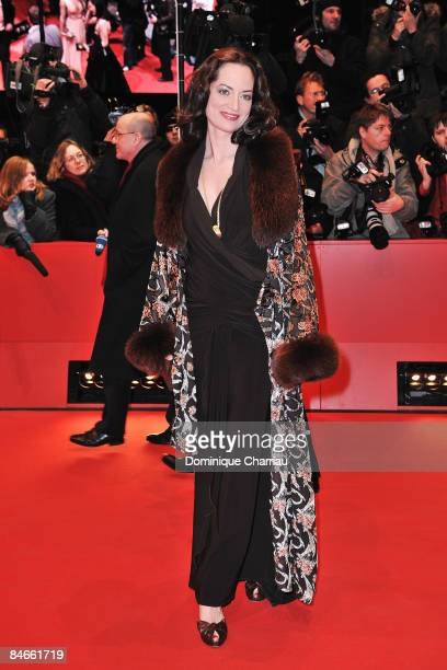 """Natalia Woerner attends the """"The International"""" premiere and Opening Ceremony during the 59th Berlin International Film Festival at the Berlinale..."""