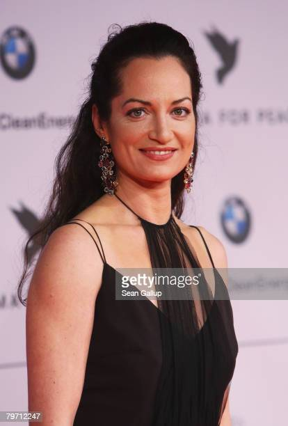 Natalia Woerner during 7th Annual Cinema For Peace Gala sponsored by BMW CleanEnergy as part of the 58th Berlinale International Film Festival held...