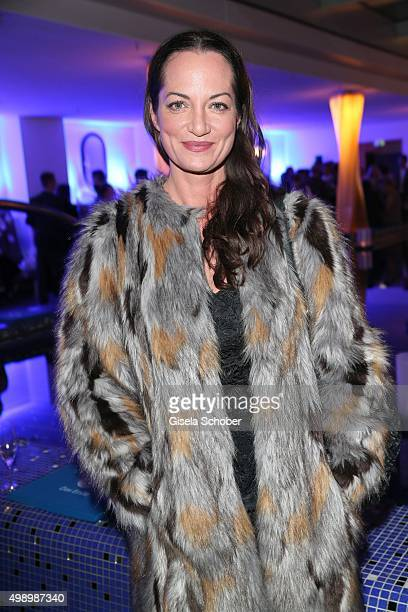Natalia Woerner during the ARD advent dinner hosted by the program director of the tv station Erstes Deutsches Fernsehen at Hotel Bayerischer Hof on...