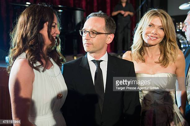 Natalia Woerner Germsan Justice Minister Heiko Maas and Ursula Karven attend the 'Deutscher Schauspielerpreis 2015' at Zoopalast on May 29 2015 in...