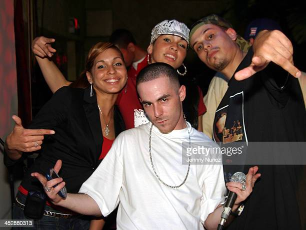 Natalie Albino and Nicole Albino of Nina Sky with Alchemist and Dilated Peoples