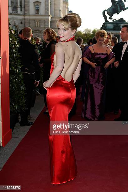Natalie Alison attends the 23nd KURIER ROMY Gala at the Hofburg on April 16 2011 on April 21 2012 in Vienna Austria