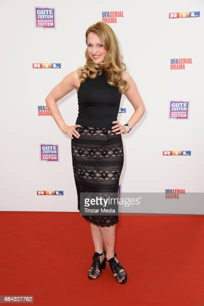 Natalie Alison attends the 25th anniversary party of the TV show 'GZSZ' on May 17 2017 in Berlin Germany