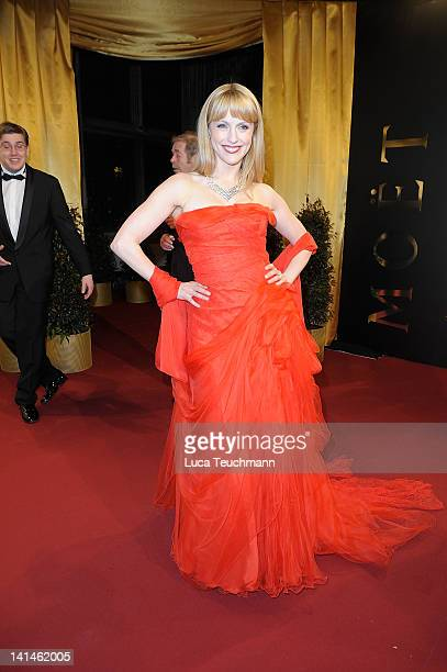 Natalie Alison attends the 3nd Orange Filmball Vienna at the Vienna Townhall on March 16 2012 in Vienna Austria