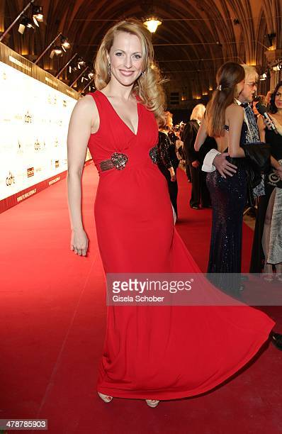 Natalie Alison attends the 5th Filmball Vienna at City Hall on March 14 2014 in Vienna Austria