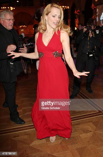 Natalie Alison dances at the 5th Filmball Vienna at City Hall on March 14 2014 in Vienna Austria