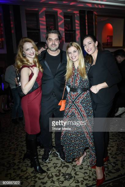 Natalie Alison Raphael Vogt Susan Sideropoulos and Ulrike Frank attend Movie Meets Media 2018 on February 18 2018 in Berlin Germany