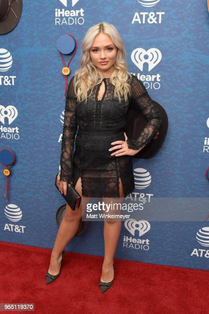 Natalie Alyn Lind arrives at the 2018 iHeartCountry Festival By AT&T at The Frank Erwin Center on May 5, 2018 in Austin, Texas.