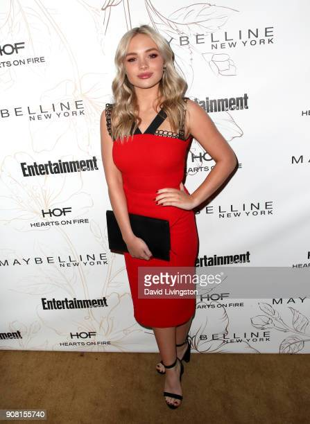 Natalie Alyn Lind attends Entertainment Weekly's Screen Actors Guild Award Nominees Celebration sponsored by Maybelline New York at Chateau Marmont...
