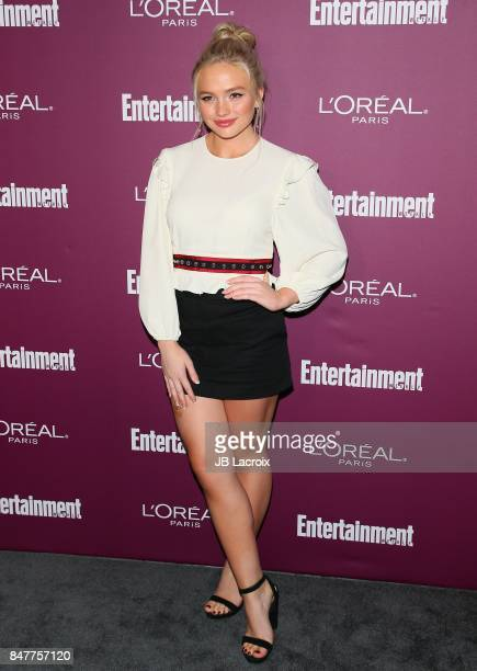 Natalie Alyn Lind attends the 2017 Entertainment Weekly PreEmmy Party at Sunset Tower on September 15 2017 in West Hollywood California