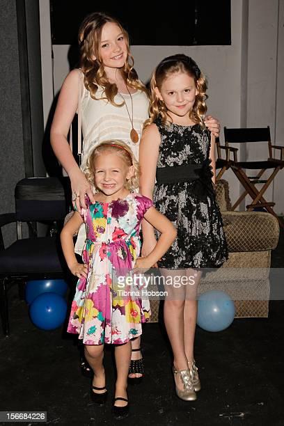 Natalie Alyn Lind Emily Alyn Lind and Alyvia Alyn Lind attend the 2nd annual Dream Magazine winter wonderland Eevent at TDJ Studios on November 18...