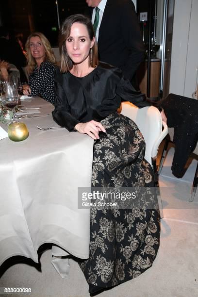 Natalie Amiri during the ARD advent dinner hosted by the program director of the tv station Erstes Deutsches Fernsehen at Hotel Bayerischer Hof on...
