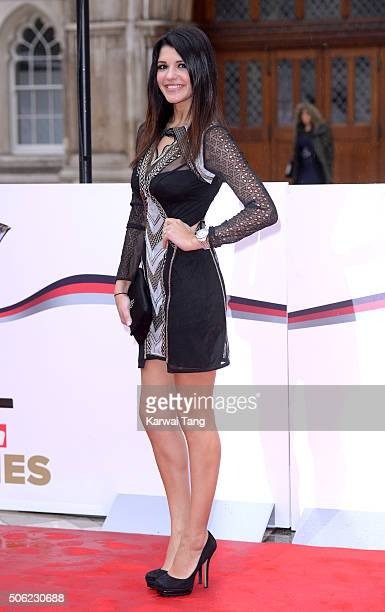 Natalie Anderson attends the Sun Military Awards at The Guildhall on January 22, 2016 in London, England.