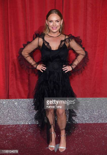 Natalie Ann Jamieson attends the British Soap Awards at The Lowry Theatre on June 01 2019 in Manchester England