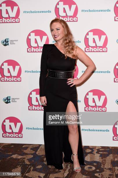 Natalie Ann Jamieson attends The TV Choice Awards 2019 at Hilton Park Lane on September 09 2019 in London England