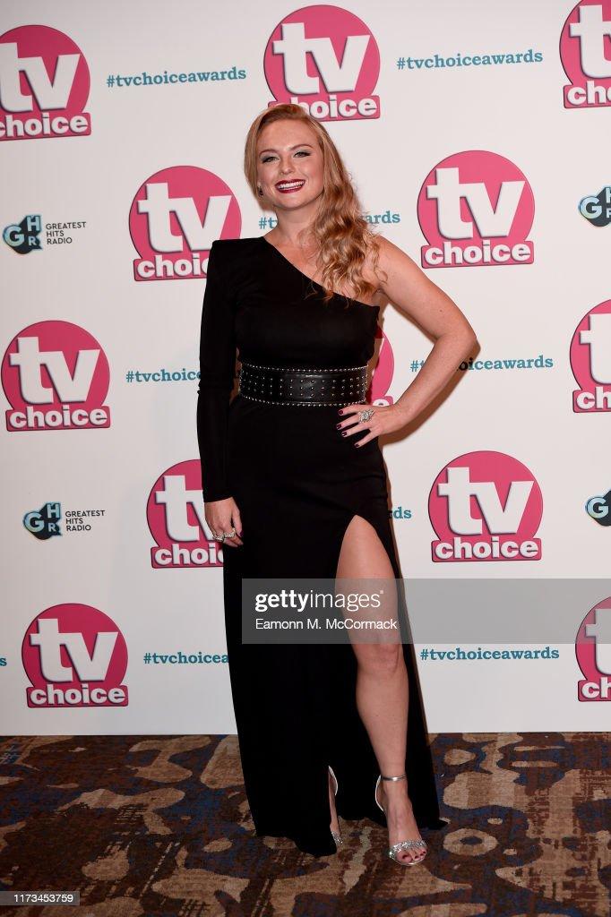 The TV Choice Awards 2019 - Red Carpet Arrivals : Fotografía de noticias