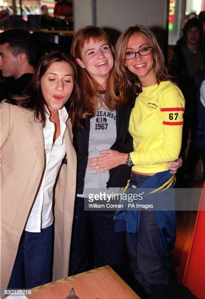 Natalie Appleton and Melanie Blatt from the girl band 'All Saints' with Former Eastenders actress and television presenter Patsy Palmer at the...