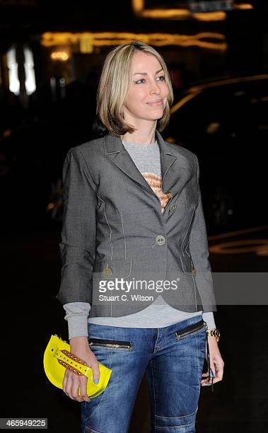 Natalie Appleton attends 'Kate Moss At The Savoy' an exhibition of never before seen photographies of Kate Moss at The Savoy Hotel on January 30 2014...