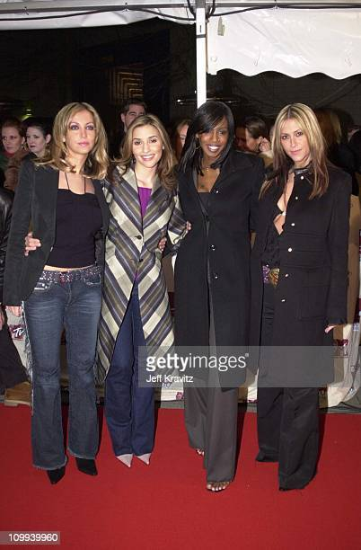 Natalie Appleton Melanie Blatt Shaznay Lewis and Nicole Appleton of All Saints