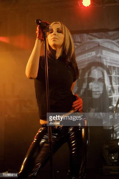 Natalie Appleton of All Saints performs at The Pavillion on October 25 2006 in London England