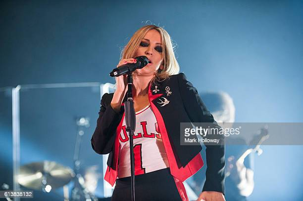 Natalie Appleton of All Saints performs on stage at O2 Academy Bournemouth on October 10 2016 in Bournemouth England