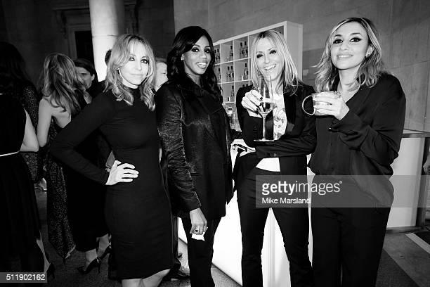 Natalie Appleton Shaznay Lewis Melanie Blatt and Nicole Appleton of All Saints attend The Elle Style Awards 2016 at tate britain on February 23 2016...