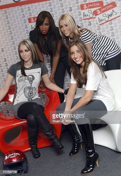 Natalie Appleton Shaznay Lewis Nicole Appleton and Melanie Blatt from band All Saints launch their new look and sound as part of the 3FrontRoom...