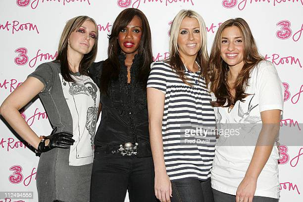 Natalie Appleton Shaznay Lewis Nicole Appleton and Melanie Blatt of the All Saints