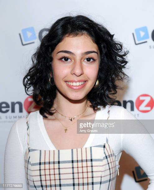 Natalie Asatryan attends the ConnectHer Media's Launch Party for the Gen Z Girls X Gen Z Guys Influencer Brand on October 19 2019 in Garden Grove...