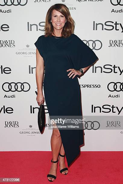 Natalie Barr arrives at the 2015 Women of Style Awards at Carriageworks on May 13 2015 in Sydney Australia