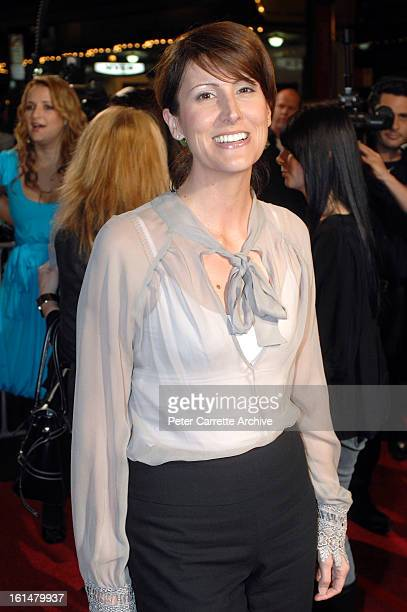 Natalie Barr arrives for the Sydney premiere of the film 'The Bourne Ultimatum' at the State Theatre on August 07 2007 in Sydney Australia