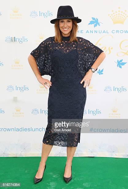 Natalie Barr attends the Crown Resorts Ladies Lunch at Inglis Stables at Inglis Newmarket Stables on March 18 2016 in Sydney Australia