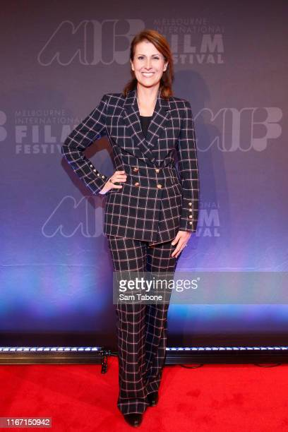 Natalie Barr attends the MIFF Centrepiece Gala Little Monsters on August 10 2019 in Melbourne Australia