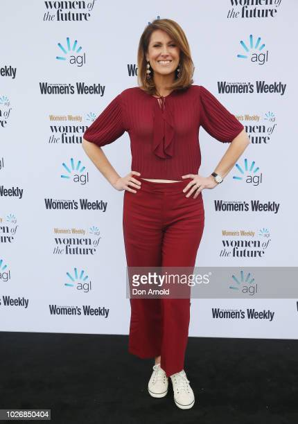 Natalie Barr attends the Women of the FutureAwards at Quay on September 5 2018 in Sydney Australia