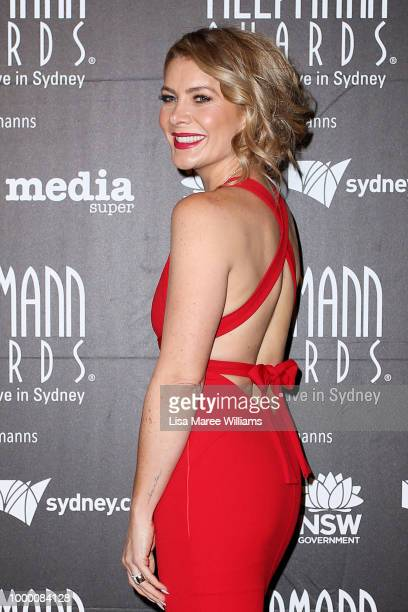 Natalie Bassingthwaighte arrives at the 18th Annual Helpmann Awards at Capitol Theatre on July 16 2018 in Sydney Australia