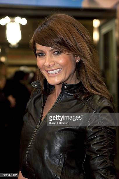 Natalie Bassingthwaighte attends the Melbourne opening night for 'Avenue Q' at Comedy Theatre on June 4 2009 in Melbourne Australia