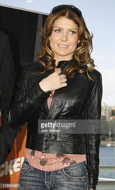 Natalie Bassingthwaighte during 2006 Nickelodeon Kids Choice Awards Nominations at Poolside Cafe Andrew 'Boy' Charlton Pool in Sydney NSW Australia