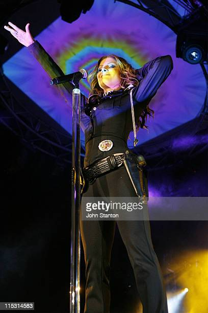 Natalie Bassingthwaighte during The Rogue Traders in Concert at The Hordern Pavillion in Sydney September 23 2006 at The Horden Pavillion in Sydney...