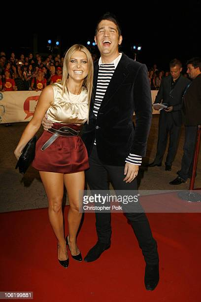 Natalie Bassingthwaighte of Rogue Traders and James Ash