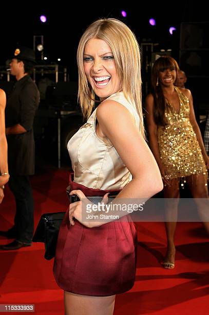 Natalie Bassingthwaighte of Rogue Traders during MTV Australia Video Music Awards 2007 Arrivals at Superdome in Sydney NSW Australia