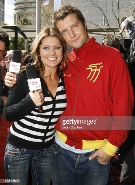 Natalie Bassingthwaighte of the Rogue Traders and Host Axle
